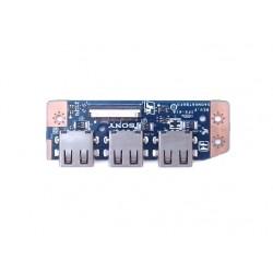 Модуль USB разъёмов DA0HK6TB6F0 для Sony SVE151