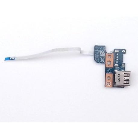 Модуль USB разъёма ноутбука Toshiba C850D