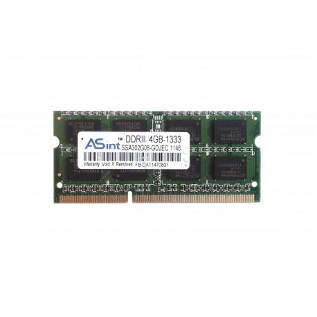 ASint 4GB 1333MHz DDR3