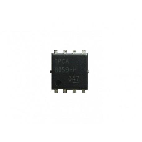 TPCA8059-H транзистор вид сверху.