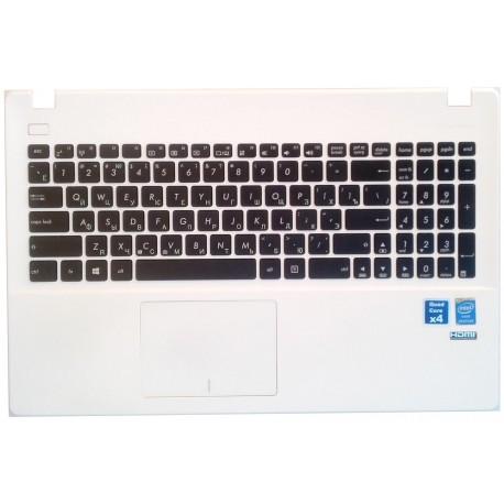 Палмрест, клавиатура Asus X551MA. Вид снаружи.