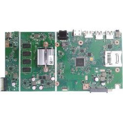 Материнская плата X541NA REV. 2.1. Вид со стороны процессора.