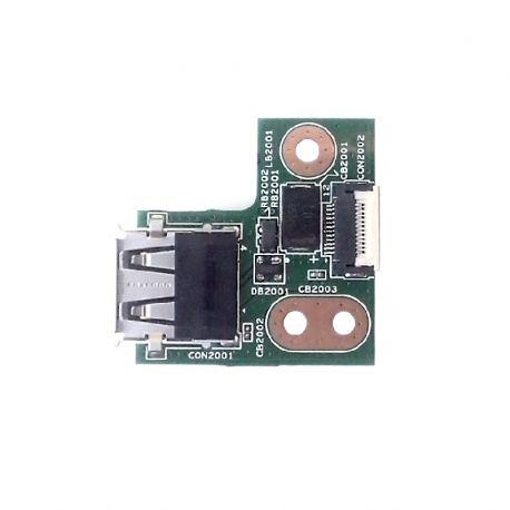 Плата USB для HP G62. Вид снизу.