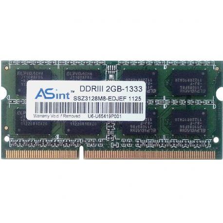 ASint SSZ3128M8-EDJEF модуль памяти DDR3 2GB 1333MHz