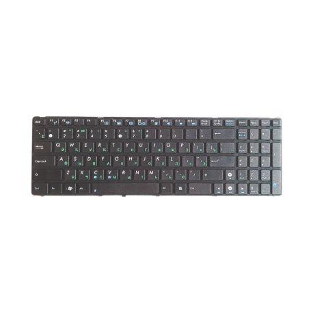 Клавиатура G60-USA REV:RU для Asus K53S. Вид сверху.