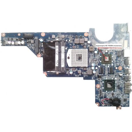 Материнская плата DA0R13MB6E0 rev.E для HP Pavilion G6-1000 G4-1000