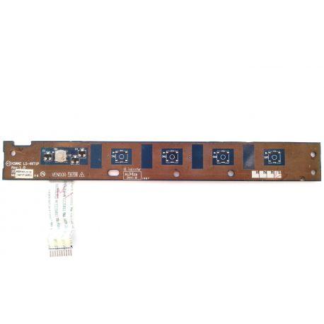 Плата кнопки включения KSWAE LS-4971P для Toshiba L500