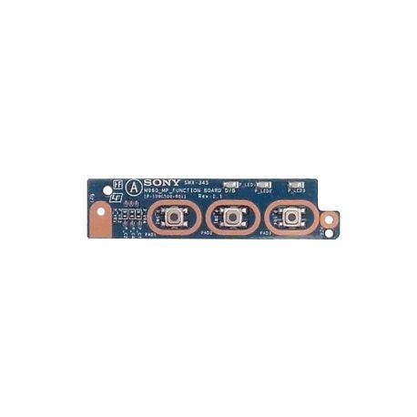 SWX-345 плата кнопок и led индикации Sony PCG-61211V (71211V)