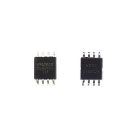 Микросхема 25Q16BV (W25Q16BV)