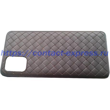 Чехол Galaxy A51, пластиковый мягкий чехол, черный