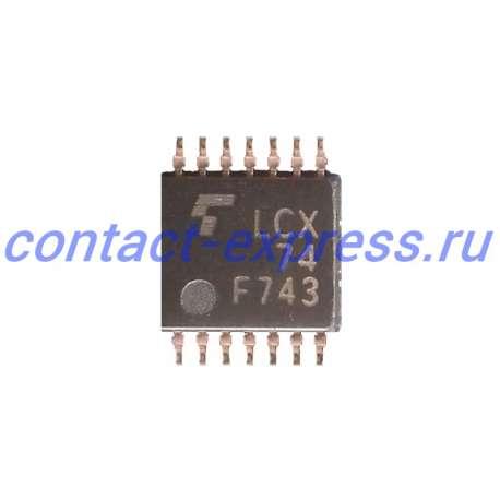 TC74LCX74FT микросхема, LCX 74