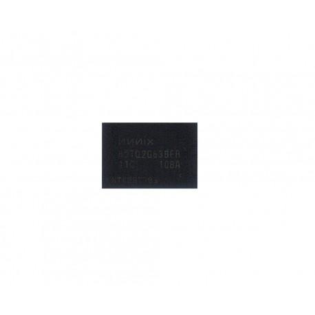 H5TQ2G63BFR-11C чип видео памяти. Вид сверху.